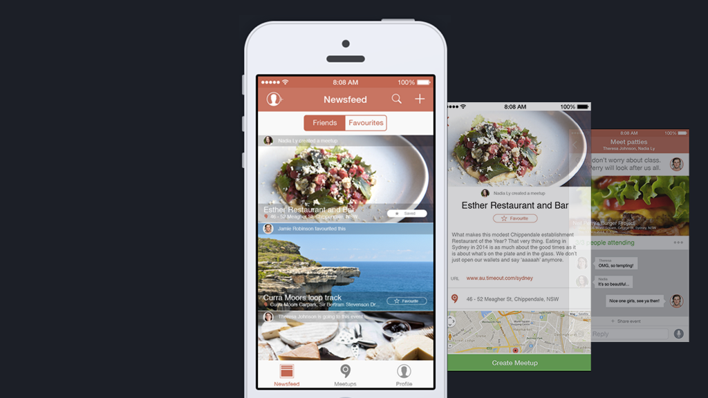 Together: A mobile application case study